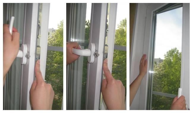 Ручку пластикового окна заклинило