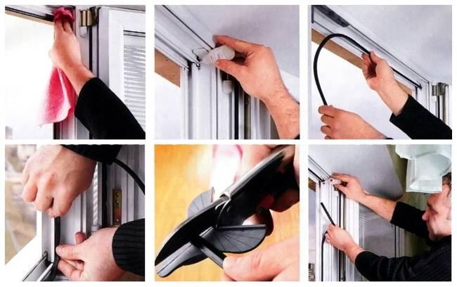 Как заменить уплотнитель пластикового окна