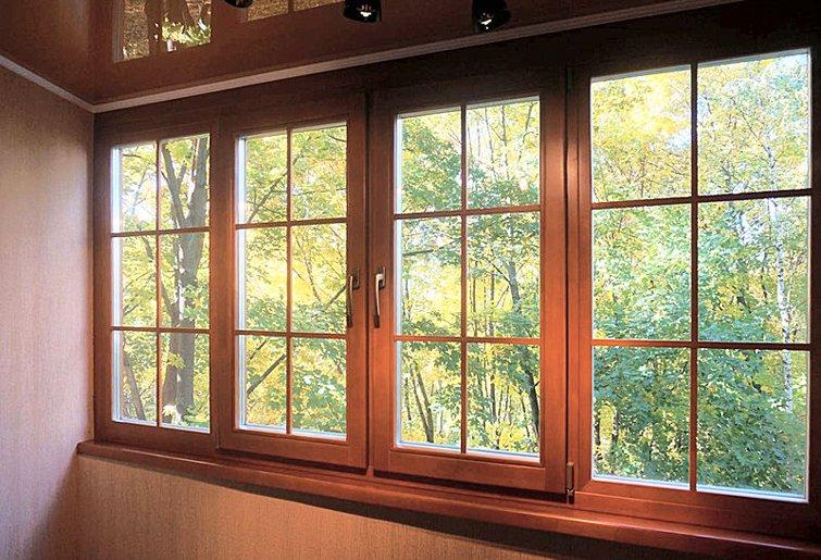 Lesena okna za vile